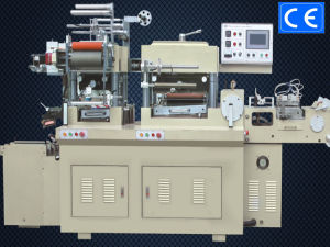Label Roll Die Cutter Machine with Lamination + Hot Stamping
