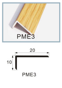 1*2cm Angel End for 8mm and 12mm Flooring Accessories Aluminum Wood Coated pictures & photos