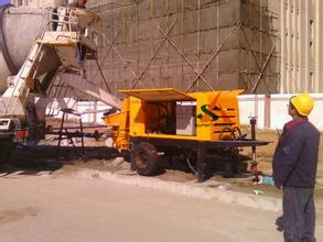 Mobile Diesel Concrete Trialer Pump pictures & photos