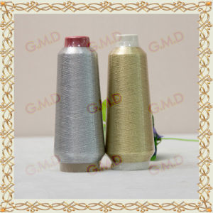 St Type Gray Silver Fluorescent Golden Embroidery Metallic Yarn