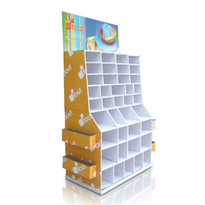 Compartment Cardboard Display, POS Paper Advertising Display pictures & photos