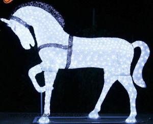 Outdoor Landscape Horse Decoration Solar LED Christmas Decorative Light pictures & photos