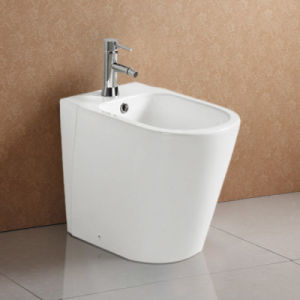 Freestanding Single Hole Ceramic Bidet