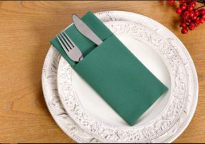 Cutlery Airlaid Printed Paper Napkin