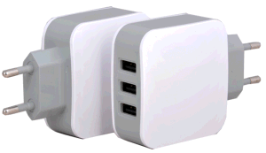 High Quality USB Power Adaptor with 3 USB Ports Output pictures & photos