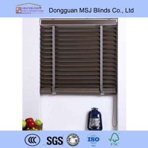 50mm Basswood Slats Luxury Made to Customized Wooden Blinds pictures & photos