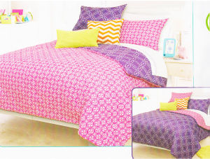 New Printed Microfiber Comforter Set K pictures & photos