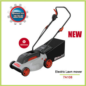 2000W 420mm Heavy Duty Lawn Mower with Height Adjusment