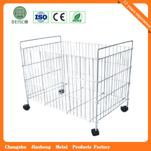 Wholesale Foldable Warehouse Mesh Container pictures & photos