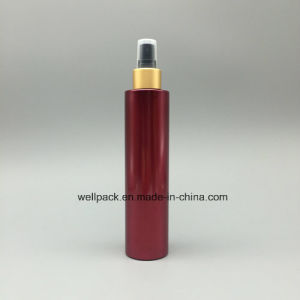 24mm 250ml Flat Plastic Cosmetic Bottle with Sprayer pictures & photos