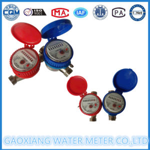 Brass Single Jet Dry Type Domestic Water Meter (DN15-DN25) pictures & photos