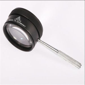 35X Portable Jewel Magnifier Lamp with LED Light (EGS-35*50) pictures & photos