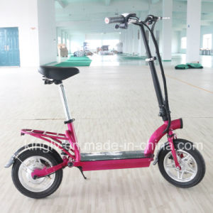 Factory Manufacture 300W Brushless Motor Electric Scooter pictures & photos