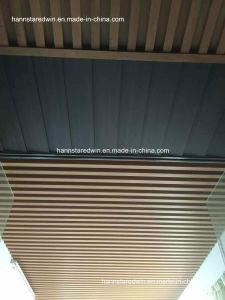 Ecological PVC Wooden Composite Plastic Panels PVC Ceiling Panel pictures & photos