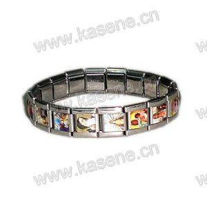 Heart-Shaped Alloy Rosary Bracelet, Saint Bracelet pictures & photos