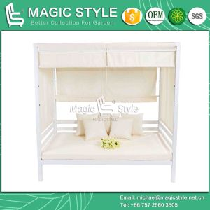 EVA Mini Daybed Double-Bed 2-Seater Sofa Beach Bed Hotel Project Aluminum Daybed (MAGIC STYLE) pictures & photos