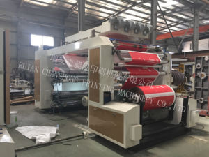 Roll Paper 6 Color Flexographic Printing Machine pictures & photos
