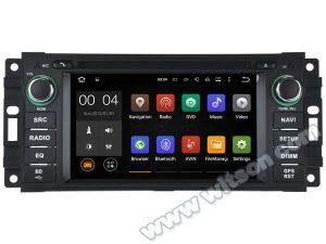 Witson Android 5.1 Car DVD GPS for Jeep Compass/Wrangler/Kreisler with Chipset 1080P 16g ROM WiFi 3G Internet DVR Support (A5620) pictures & photos