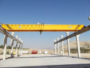 20 Ton Gear Box Single Girder Overhead Crane pictures & photos