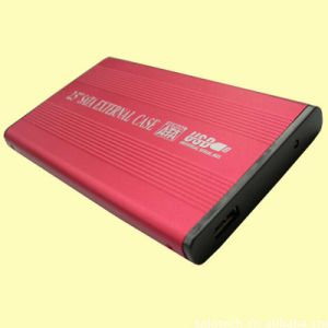 Aluminium Shell USB2.0 HDD Enclosure Supports All 2.5-Inch SATA Hard Drives pictures & photos