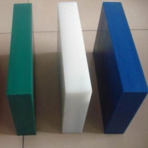 Corrosion Resistance Green White Blue PE Plastic Sheet / Board pictures & photos
