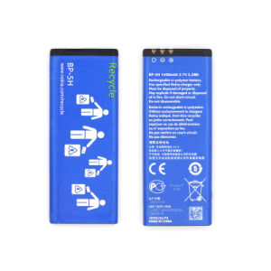 Rechargeable Li-Polymer Phone Battery for Nokia Bp-H5 pictures & photos
