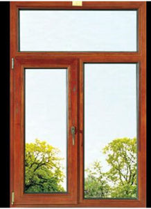 Opening Aluminum Alloy Window with Double Glass