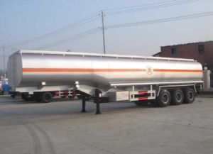 3 Axles Aluminum Liquid Oil/Fuel/Chemical Tanker Trailer Truck pictures & photos