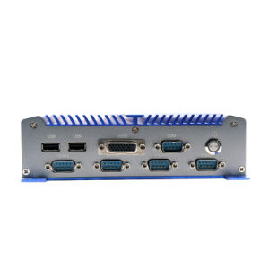 Industrial Fanless Mini PC 9-36V Computer PC with Atom Processor /Onboard 32GB SSD pictures & photos