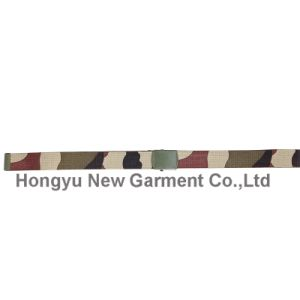 Polyester Webbing Belt with Alloy Buckle in Woolland (HY-WB014) pictures & photos