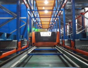 Adjustable Steel Warehouse Radio Shuttle Racking pictures & photos