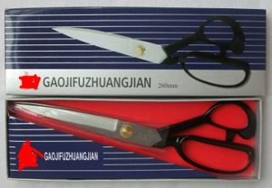 10′′ Black Blade Carbon Steel Tailor Scissors pictures & photos