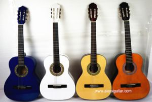 Small Size Children Beginner Grade Colour Classic Guitar pictures & photos