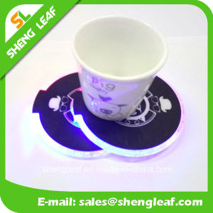 Hot Sale Householder LED Custom Acrylic Coaster for Promotion (SLF-LC002) pictures & photos