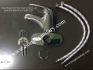 61005 South American Style ABS Chrome Plated Basin Faucet pictures & photos