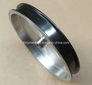 Ceramic Coating for Wire Guide Pulley /Ceramic Coating Pulleys for Enamelling Machine pictures & photos