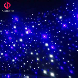 Blue and White Lamp of LED Star Cloth for Event Starlit curtain Backdrop pictures & photos