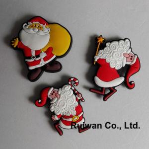 Wholesale Christmas Decoration 3D Rubber Fridge Magnet pictures & photos