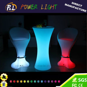 LED Bar Furniture Rechargeable LED Bar Stool pictures & photos