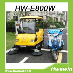 Industrial Cleaning Sweeper with Vacuum, Sweep and Water Spray Function pictures & photos