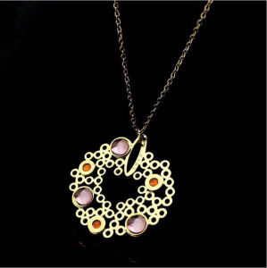 Fashion Jewelry Accessories Stainless Steel Jewelry Necklace (hdx1111) pictures & photos