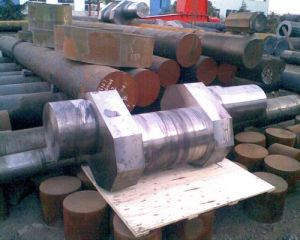 Forged Crank Shaft Made by Free Forging Process with ISO9001 pictures & photos