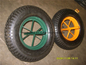 Maxtop Quality Rubber Wheelbarrow Wheel pictures & photos