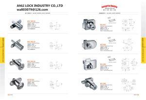 Wardrobe Door Lock, Furniture Lock, Glass Door Lock Al-408, Al-417 pictures & photos