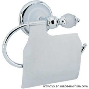 Zinc Ceramic Toilet Paper Holder in Chrome Finish pictures & photos