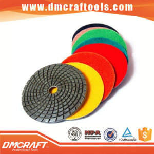China Diamond Hand Polishing Pads for Granite & Marble pictures & photos