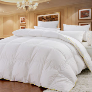 Duck Down Fiber Duvets and Pillows pictures & photos