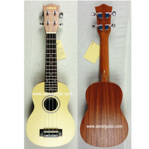 Aiersi 21 Inch Spruce Top&Mahogany Body Hawaii Ukulele pictures & photos