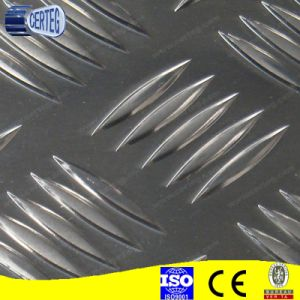Anti-slip 5 Small Bar Pattern Aluminium Checker Plate pictures & photos