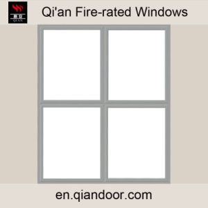 Fixed Steel Frame Fire Window with Four Panes pictures & photos